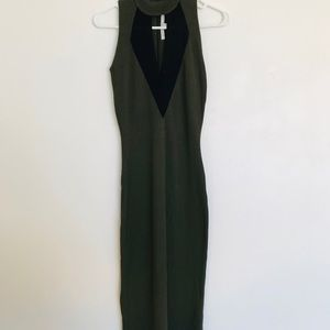 RACHEL rachel roy army green and black size small.
